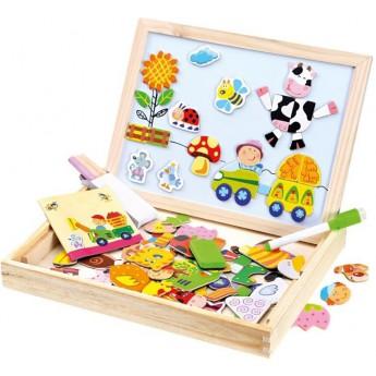 Bino Farma puzzle s tabulkou