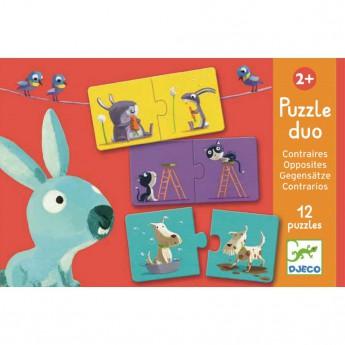 Djeco Duo Puzzle PROTIKLADY