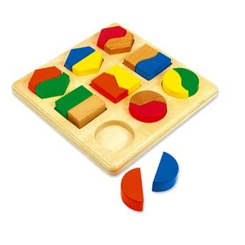 Motorické a didaktické hračky - Geometrické tvary - Wello Formen