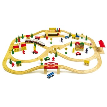 Pro kluky - Dřevěná vláčkodráha Nadzemní železnice
