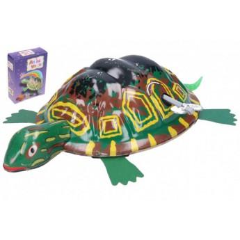 Želva na klíček kovová