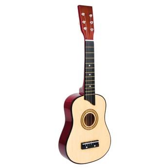 Dětské hudební nástroje - Dětská kytara přírodní