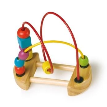 Motorické a didaktické hračky - Motorický labyrint malý - červený