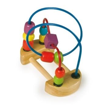 Motorické a didaktické hračky - Motorický labyrint malý - modrý