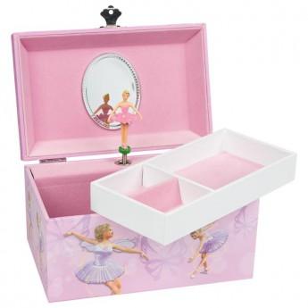 Hrací skříňka – Balerina, melodie: labutí jezero