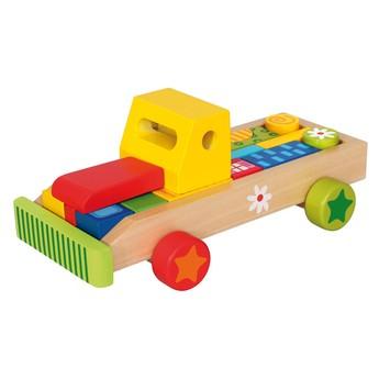Motorické a didaktické hračky - Auto s tvary