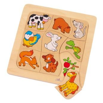 Puzzle - Puzzle Kdo co jí?