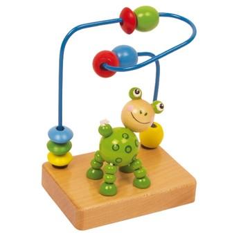 Motorické a didaktické hračky - Motorický labyrint malý - žabička