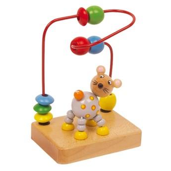 Motorické a didaktické hračky - Motorický labyrint malý - myška