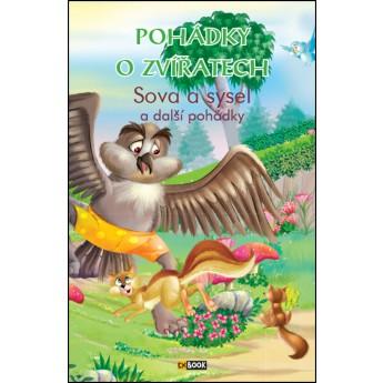 Knížka Pohádky o zvířatech Sova a sysel
