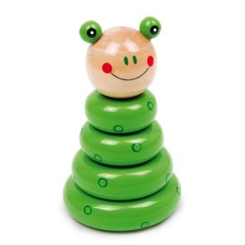 Motorické a didaktické hračky - Kuželka Žába