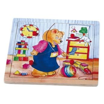 Puzzle - Puzzle medvěd Benny uklízí