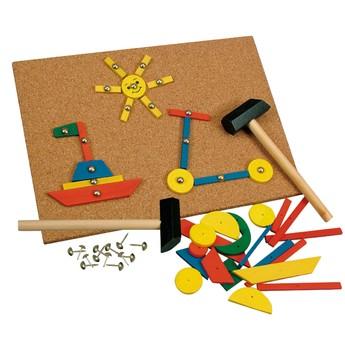 Pro kluky - Hra s kladívkem, 229 dílků