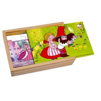 Puzzle - Puzzle mini 4 obrázky - Rumcajs