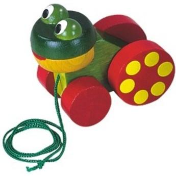 Pro nejmenší - Žabka tahací