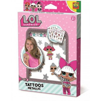 L.O.L. - metalické tetování