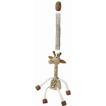 Dětský pokojíček - Dřeváček žirafa na pružině