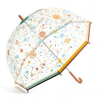 Djeco Velký designový deštník Drobná kvítka