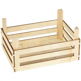Prázdná dřevěná přepravka