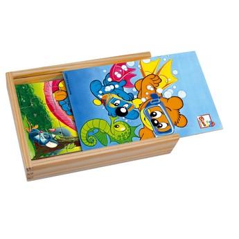 Puzzle - Puzzle mini 4 obrázky - Méďa Pusík 1