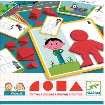 Djeco Hra tvary
