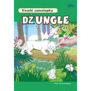 Veselé samolepky - jungle