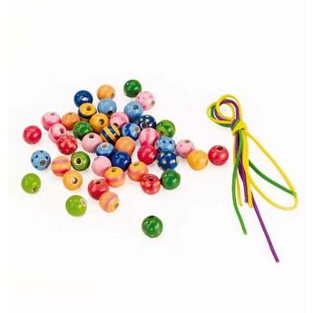 Pro holky - Sada dřevěných perel