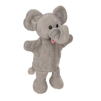 Maňásek na ruku pro děti – Slon