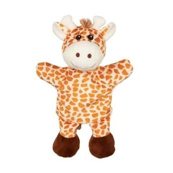 Maňásek na ruku pro děti – Žirafa