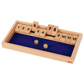 Shut the box – stolní hra pro 2 hráče