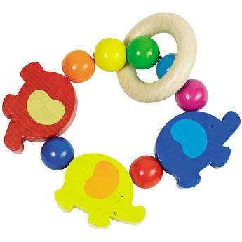 Pro nejmenší - Sloni – elastická hračka do ruky