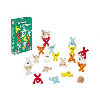 Janod Společenská hra pro děti Opice