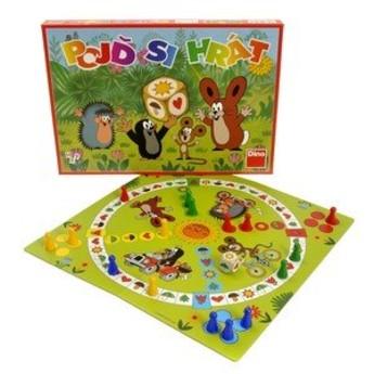 Hry a hlavolamy - Společenská hra Pojď si hrát