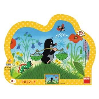 Puzzle - Krteček 25 dílků
