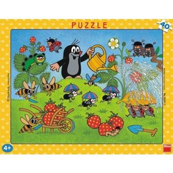 Puzzle - Krtek v jahodách 40 dílků
