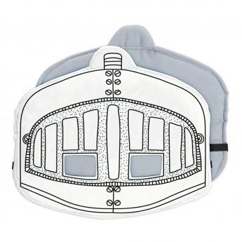 Rytířská helma k vymalování