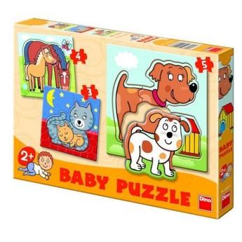 Puzzle - Dětské puzzle Zvířátka
