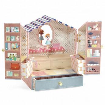 Djeco Hrací skříňka Tina
