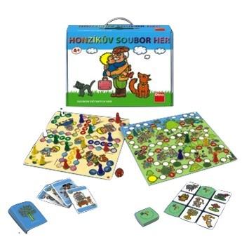 Hry a hlavolamy - Společenská hra Honzíkův soubor her