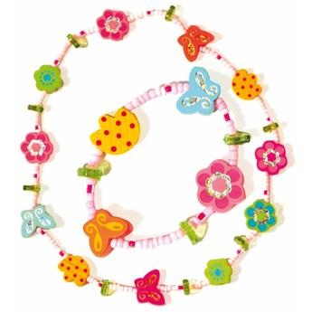 Pro holky - Náhrdelník a náramek - Květiny