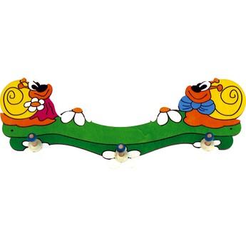 Dětský pokojíček - Věšák velký - Šnek a Šneková