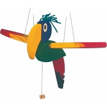 Dětský pokojíček - Létací papoušek malý