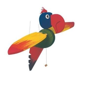 Dětský pokojíček - Létací papoušek velký