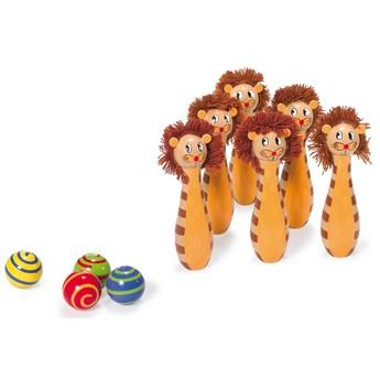 Hry a hlavolamy - Kuželky lev