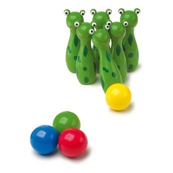 Hry a hlavolamy - Kuželky žáby