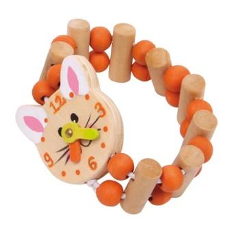 Hodinky Myška - oranžové
