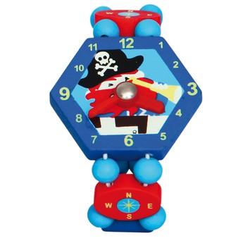 Pro kluky - Hodinky Pirát - modré