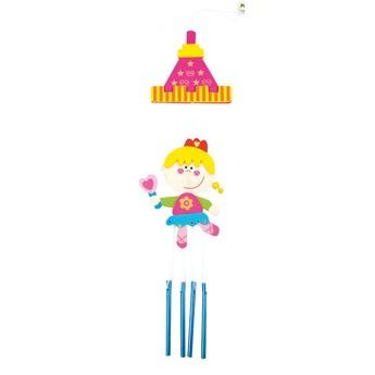 Dětský pokojíček - Závěs se zvonky Princezna