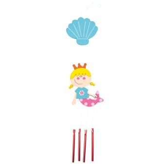 Dětský pokojíček - Závěs se zvonky Mořská panna