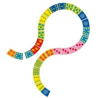 Hry a hlavolamy - Dřevěné domino Sinus